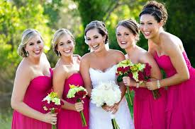 fuschia bridesmaid dress top 6 fall wedding color combinations bridesmaid dresses trends