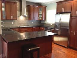kitchen ideas cherry cabinets kitchen backsplash cherry cabinets home design plan