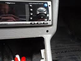 Putting An Aux Port In Your Car Vwvortex Com Adding Aux Input To The Center Console Diy W Pictures