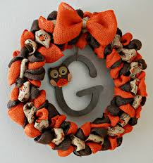 burlap halloween wreath burlap fall wreath with owls miss frugal fancy pants