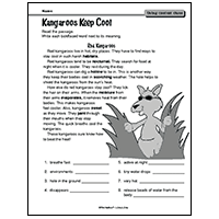 reading context clues ideas activities worksheets printables