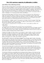 Best Interests For Resume by Dave Rennardson U0027s Cv