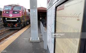 mbta commuter rail in beverly ma pictures getty images
