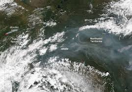 Wild Fires In Bc Videos by Canadian Wildfires Burning In Yukon Territory Nasa