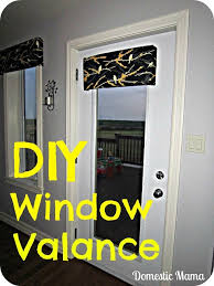 Foam Board Valance Diy Window Valance Foam Board Batting Fabric Duct Tape And