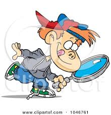Seeking Free Royalty Free Rf Clip Illustration Of A Boy Seeking
