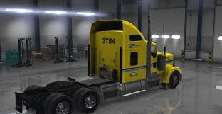 kenworth w900 truck penske skin ats mod american truck