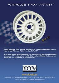 subaru rally wheels new 17