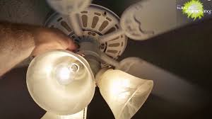Hunter Fan Light Not Working Easy Fix For New Ceiling Fan Candelabra Base Light Bulb Not