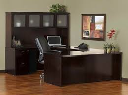 U Shaped Desks With Hutch Pleasant U Shaped Office Desk With Hutch For Small Home Decor