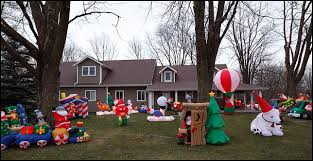 outrageous number of decorations photograph