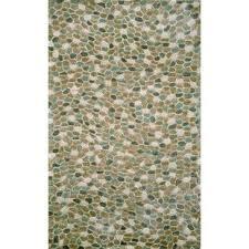 pebble rug modern contemporary felt pebble rug allmodern