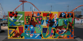 artists bring 22 new murals to coney art walls 2016 huffpost