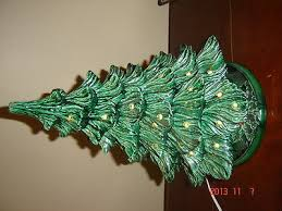 ceramic light up christmas tree ceramic christmas tree collection on ebay