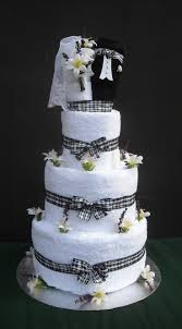 towel cakes wedding towel cake cakes ideas