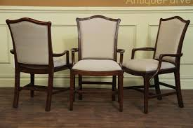 Mahogany Dining Room Chairs Mahogany Dining Chairs Chippendale Shieldbacks Upholstered