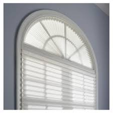 redi shade light filtering cordless pleated arch shade lowe u0027s canada