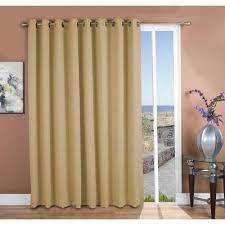 tan blackout curtains u0026 drapes window treatments the home