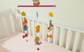 Decor Baby by Wooden Baby Mobile For Cot Crib Nursery Decor Baby Development