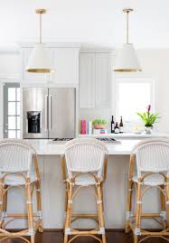 kitchen rattan kitchen counter stools with back also pendant