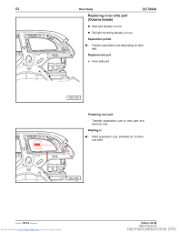 skoda octavia 1997 1 g 1u body repairs workshop manual