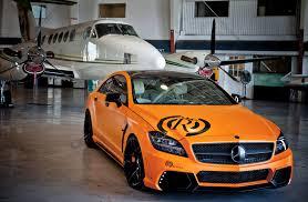 orange mercedes mercedes car machinery tuning plane orange mercedes benz cls royal