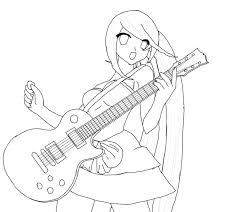 with guitar sketch wip by ganoderma on deviantart