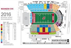 Wsu Campus Map Most Donation Prices Rise For 2017 Season Tickets Cougcenter