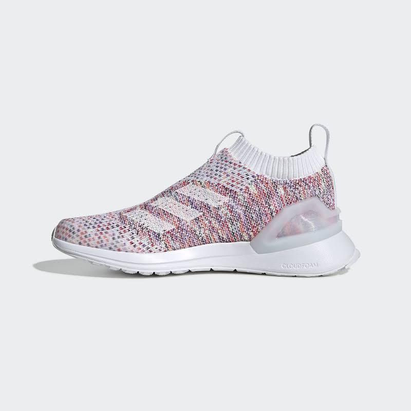 Adidas Girls RapidaRun Cloud Foam Running Shoes Pink 6.5 Medium (B,M) Big Kid