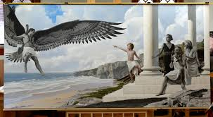 models needed for a large commission painting of icarus bryan