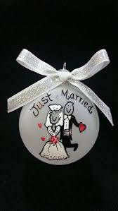Personalized Wedding Ornament 37 Best Personal Christmas Ornaments Images On Pinterest Frosted