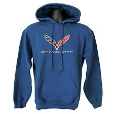 corvette hoodie c7 corvette embroidered sweatshirt hoodie at amazon s clothing