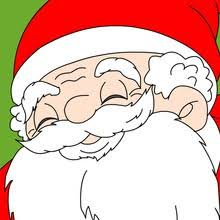 santa free printable coloring pages crafts games activites