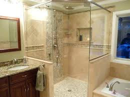 Bathroom Shower Stalls With Seat Walk In Shower Stall Large Size Of Bathroom Shower Prefab Shower