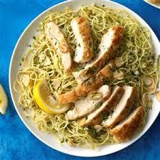 pasta recipes lemon chicken pasta recipe taste of home