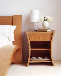 bedroom best design stunning bedside table beige paint walls