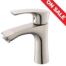 Stainless Steel Bathroom Faucets by Kingo Home Contemporary Stainless Steel Single Hole Lavatory