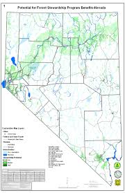 Map Of Nevada Cities State Resource Assessments Nevada Division Of Forestry