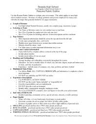 high resume exles for college applications high resume exles pdfe resumes for college applications