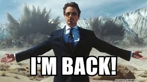 Im Back Meme - i m back tony stark explosions meme generator