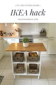 kitchen island on wheels ikea best 25 kitchen island ikea ideas on ikea island hack