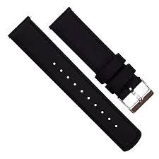 b and q kitchen design service amazon com barton quick release top grain leather watch band