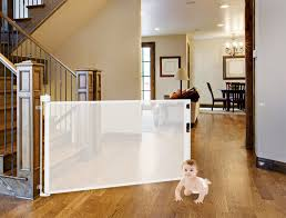Baby Gates For Bottom Of Stairs With Banister Retract A Gate Made In Usa U2022 Retractable Safety Gates For A Baby