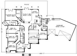 House Plans With Elevations And Floor Plans Feng Shui Ranch House Floor Plans Floor Plans Home Plan 149 1470
