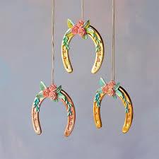 horseshoe christmas ornaments horseshoe ornament glitterville shop
