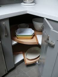 Lazy Susans For Cabinets by Design Ideas And Practical Uses For Corner Kitchen Cabinets