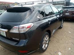 used lexus rx 350 in nigeria super clean lexus rx350 used 2010 model autos nigeria