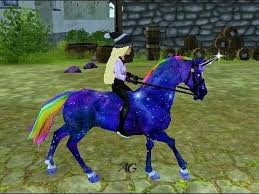 give horse special colour star stable