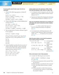 Worksheet 5 Double Replacement Reactions 6 Self Quiz Chapter