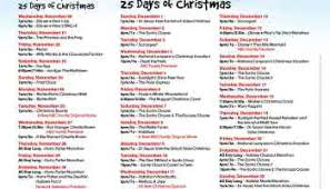 countdown to 25 days of christmas starts today on abc family i
